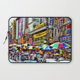 Korean Rain (Painted Version) Laptop Sleeve