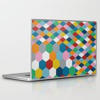 honeycomb Laptop & iPad Skins featuring Honeycomb by Project M