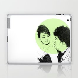Pedro Almodovar and Penelope Cruz Laptop & iPad Skin