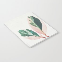 Pink Leaves I Notebook