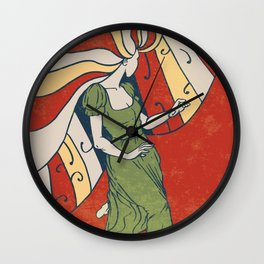 Psychedelic Dance Wall Clock