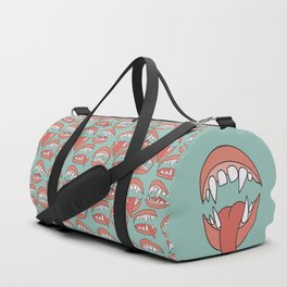 Fangs Out Duffle Bag