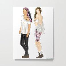 Fashion Journal: Day 28 Metal Print