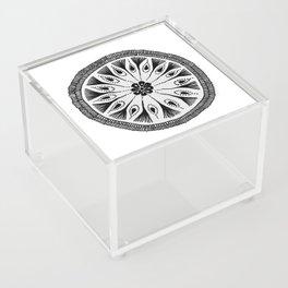 Drum Circle Acrylic Box