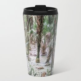 Palm Trees in the Green Swamp Travel Mug