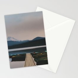 Ollalie Lake - Pacific Crest Trail, Oregon Stationery Cards