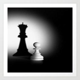 Pion Chess Art Print