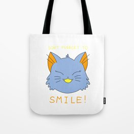 smile.cat (blue rawrsberry flavour) Tote Bag