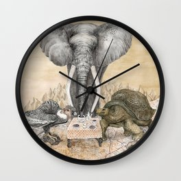 Council of Animals Wall Clock