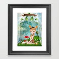 The shadoe's World Framed Art Print
