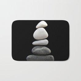 balance pebble art Bath Mat