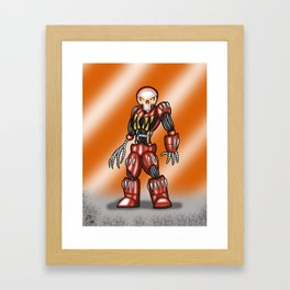 Robot Series - Outlaw Model Framed Art Print