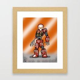 Robot Series - Outlaw Model Framed Art Print