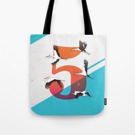 5Birds Tote Bag