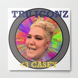 TRU ICONZ #1 CASEY Metal Print