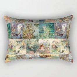 Storybook Mermaids Rectangular Pillow
