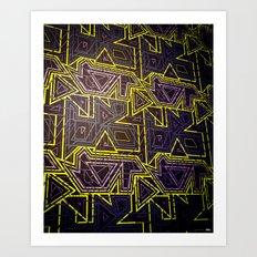 arcade (variant 2) Art Print
