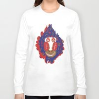 gorilla Long Sleeve T-shirts featuring Gorilla by echo3005