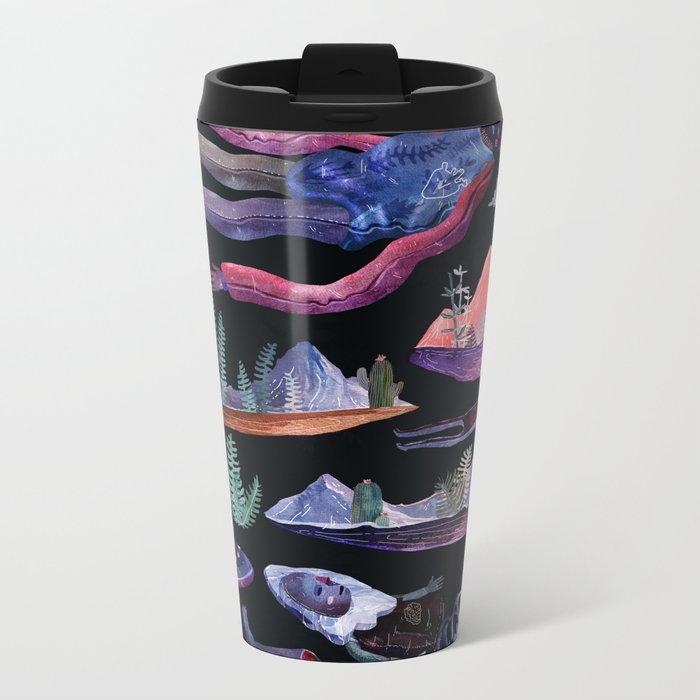extraterrestrial Metal Travel Mug