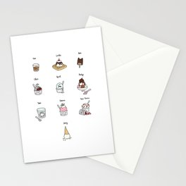 Parks and Rec Ice Cream Stationery Cards