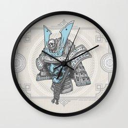Samurai Helmet Wall Clock