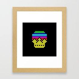 4 BIT Crown Framed Art Print