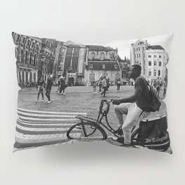 Life in Amsterdam Pillow Sham