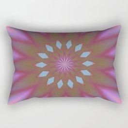 At Peace Double Kaleidoscope Rectangular Pillow