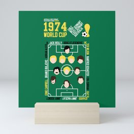 Where It All Began 1974 Australia v West Germany Mini Art Print