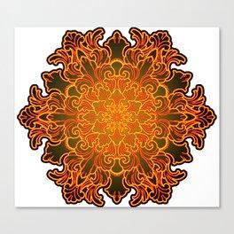 Filigree v1 Canvas Print