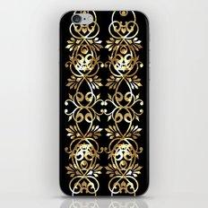 Black , striped , ethnic ornament . iPhone & iPod Skin