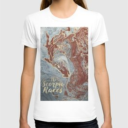 The Scorpio Races - Red as the Sea T-shirt