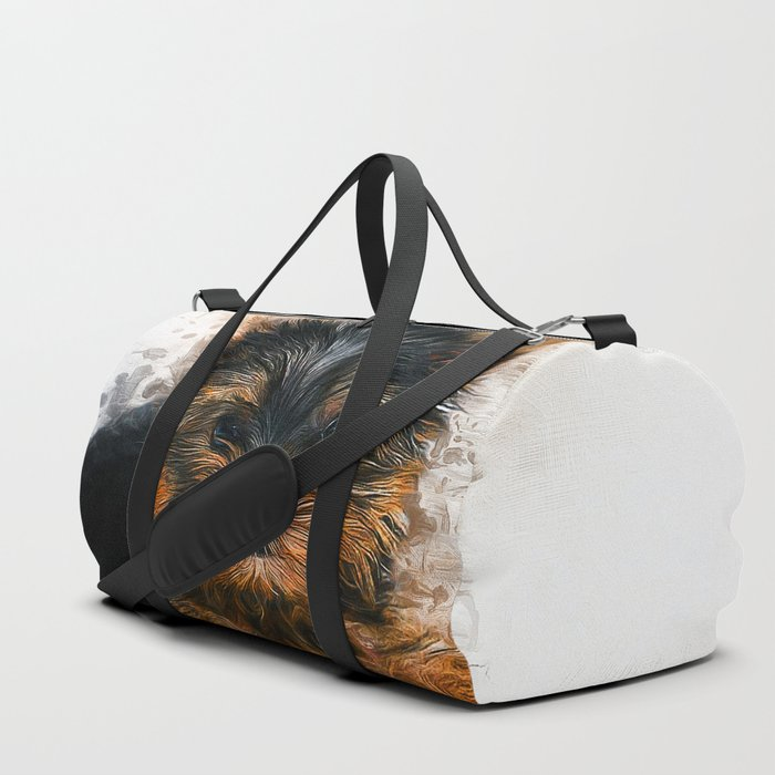 Yorkshire Terrier Puppy Duffle Bag