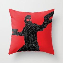 Star-Lord, GuardiansOfTheGalaxy Throw Pillow