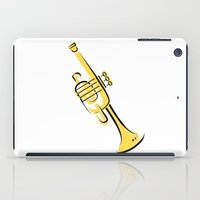 trumpet iPad Cases featuring Trumpet by shopaholic chick