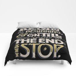 Begin at the Beginning Comforters