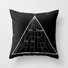 Wizard No Heart Logo Throw Pillow