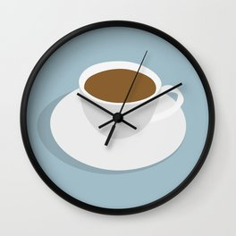one more cup Wall Clock