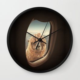 QUÈ PASA? NEVER STOP EXPLORING XXI Wall Clock
