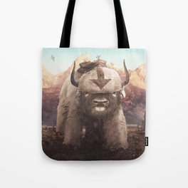 Appa in the Mountains Tote Bag