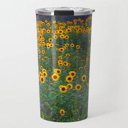 Sunflower Sunset Travel Mug