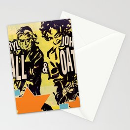 hall oates stars tour 2020 ngamein Stationery Cards