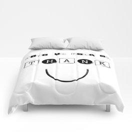 Thank you Comforters