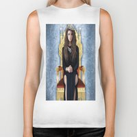 lorde Biker Tanks featuring Lorde by Justinhotshotz