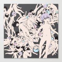 cosmos Canvas Prints featuring Cosmos by Studio Anemone