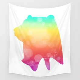 Neonimals: Bear Wall Tapestry