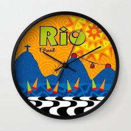 Rio 1 Wall Clock