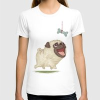 dog T-shirts featuring Dog by Toru Sanogawa