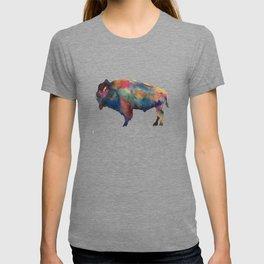 Watercolor Buffalo Bison T-shirt