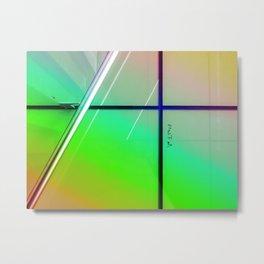 Urban Windows Metal Print